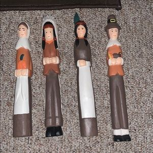 Other - Set of 4 Thanksgiving figurines